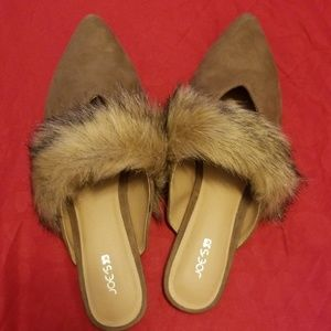 Joes jeans suede fashionable flats